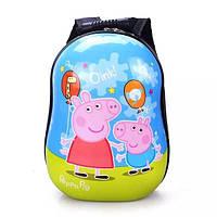 Детский пластиковый рюкзак Peppa 2