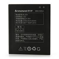 Аккумулятор Lenovo BL229 2500 mAh A806 Батарея оригинальная. Гарантия: 1год.