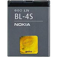 Аккумулятор Nokia BL-4S 860 mAh Батарея оригинальная. Гарантия: 1год.