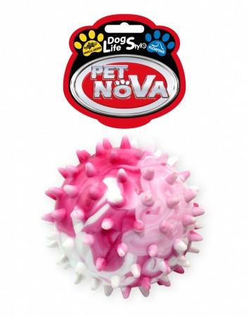 Игрушка для собак Мяч с шипами StarBall Pet Nova 6,5 см (L)