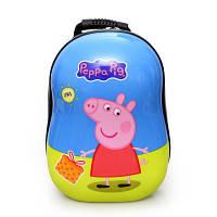 Детский пластиковый рюкзак Peppa , фото 1