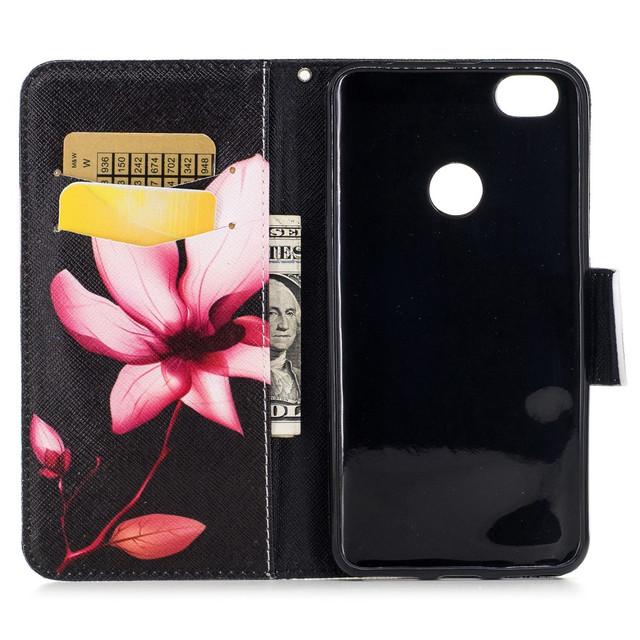 чехол Xiaomi Redmi Note 5A книжка с орхидеей