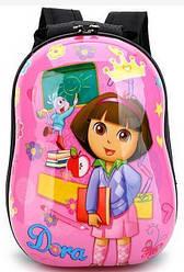 Детский пластиковый портфель  рюкзак Dora