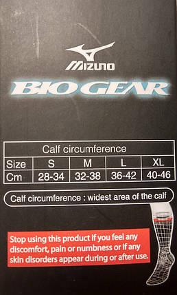 Компрессионные гетры Mizuno Compression Supporter J2GX5A11-91, фото 2