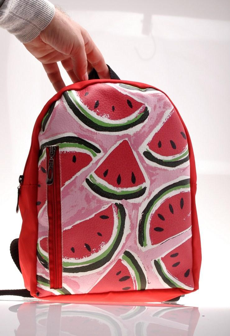 Рюкзак из ткани для детей с принтом