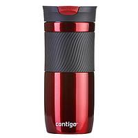 Термокружка Contigo Byron 470 мл красная 1000-0577
