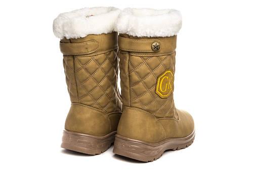Жіночі чоботи GK Boots 37 Yellow, фото 2