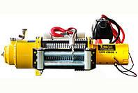 Лебедка электрическая автомобильная T-MAX CEW-15000 RADIO