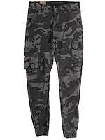 8626-5 Iteno камуфляжные серые (29-38, 10 ед.) джинсы джогеры мужские демисезонные стрейч