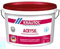 Краска фасадная Krautol Acrysil B1, ведро 10л
