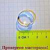 Основа для кольца простая светло-серебристая