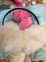 Меховые наушники, ушки, разные цвета, классика