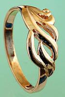 Золотий перстень без вставок