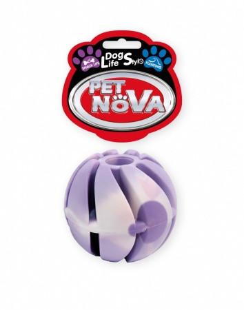 Игрушка для собак Мяч каучуковый SnackBall Vanilla Pet Nova 5 см (M)
