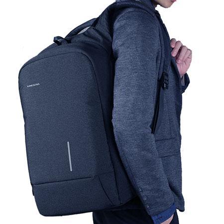Картинка синего городского рюкзака