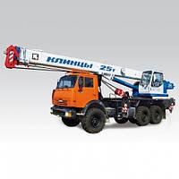 Автокран «КЛИНЦЫ» КС-55713-5К-2 на базе КАМАЗ-43118
