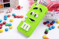 Чехол M&M's для Apple iPhone 6/6s зеленый