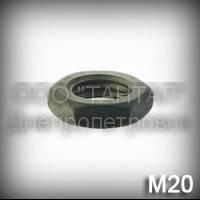 Гайка М20 низкая ГОСТ 5929-70 (ГОСТ 5916-70, DIN 439, ISO 4035,4036,8675)