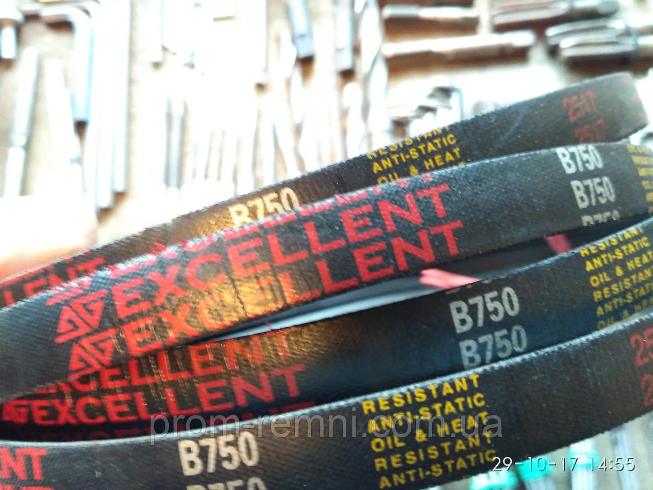 Клиновой ремень 750мм, В(Б)-750 Excellent