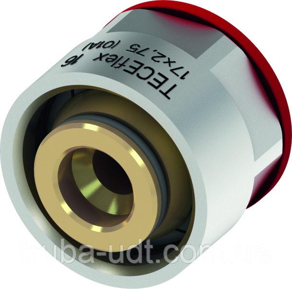 Переходник альтернативный для многослойных труб (евроконус) TECEflex с внутренней резьбой Ø 16