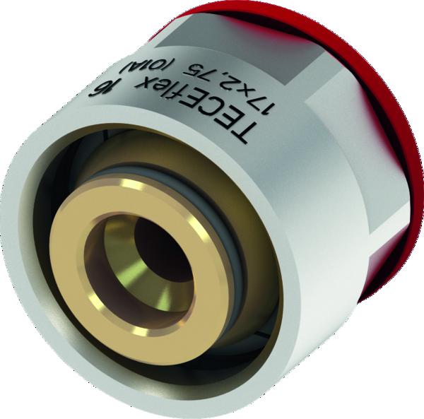 Переходник альтернативный для труб PE-Xc (евроконус) TECEflex с внутренней резьбой Ø 20