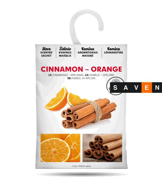 Ароматичні саші HANSA Кориця-Апельсин (доступно 6 різних ароматів)