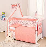 Детская постель Twins Premium P-031 Птички