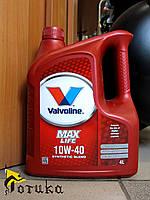 Моторное масло Valvoline MaxLife 10W-40 4 л