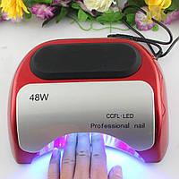 Гибридная лампа УФ для маникюра 48W LED+CCFL