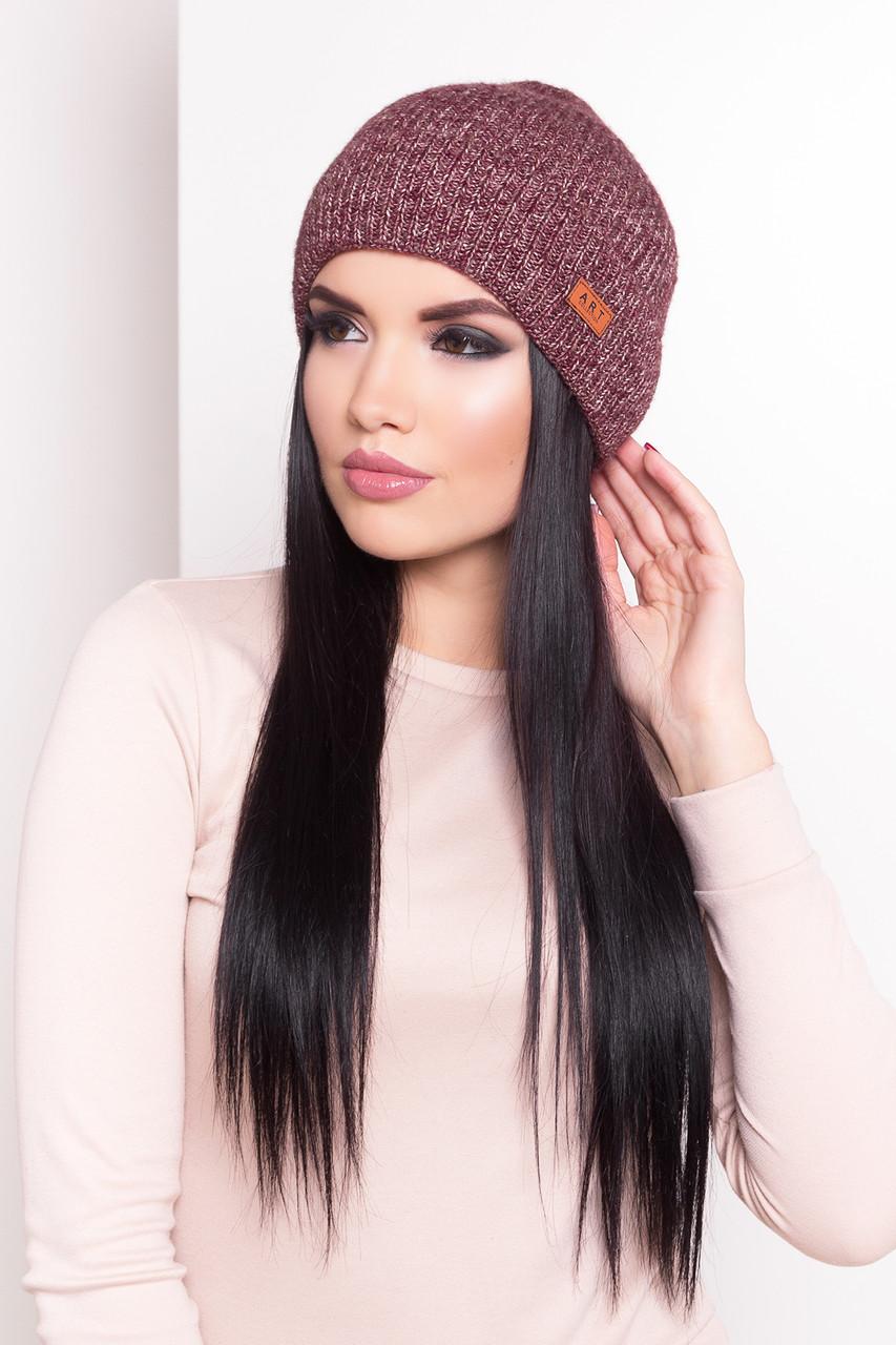 Женская шапка «Луна»