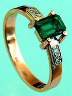 Золотий перстень із сварогріном