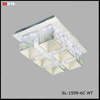 Люстра декоративна SL-1599/6C WT