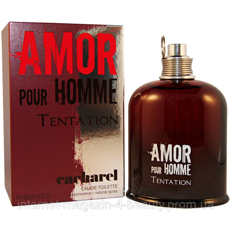 4f92aec23d4 Мужская туалетная вода Cacharel Amor Pour Homme Tentation edt 100 ml -