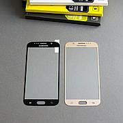 Защитное стекло Full Cover для Samsung S6 Золотое