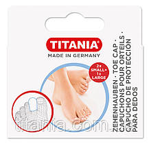 Защитные колпачки для пальцев ног TITANIA 5214/BOX
