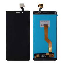 Дисплей+сенсор (модуль) для Elephone P9000 чорний і білий