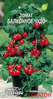 """Мини пакет семена  томата Балконное Чудо красное, скороспелый 0,1 г, """"Семена Украины"""", Украина"""