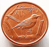 Каймановы острова 1 цент 1992