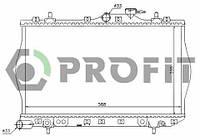 Радиатор охлаждения Hyundai Accent 94-00 Profit