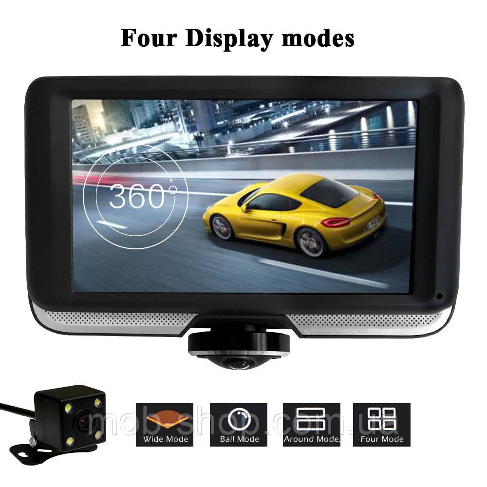 Автомобильный видеорегистратор DVR K8 + камера заднего вида