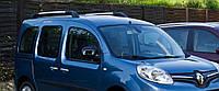 Рейлинги Renault Kangoo с 2008г пластик