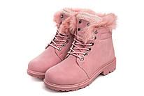 Ботинки женские Original wind d. pink 37