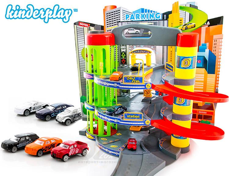 Гараж-паркинг Kinderplay Mega Garage