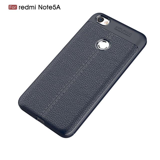 чехол Xiaomi Redmi Note 5A Prime накладка синий