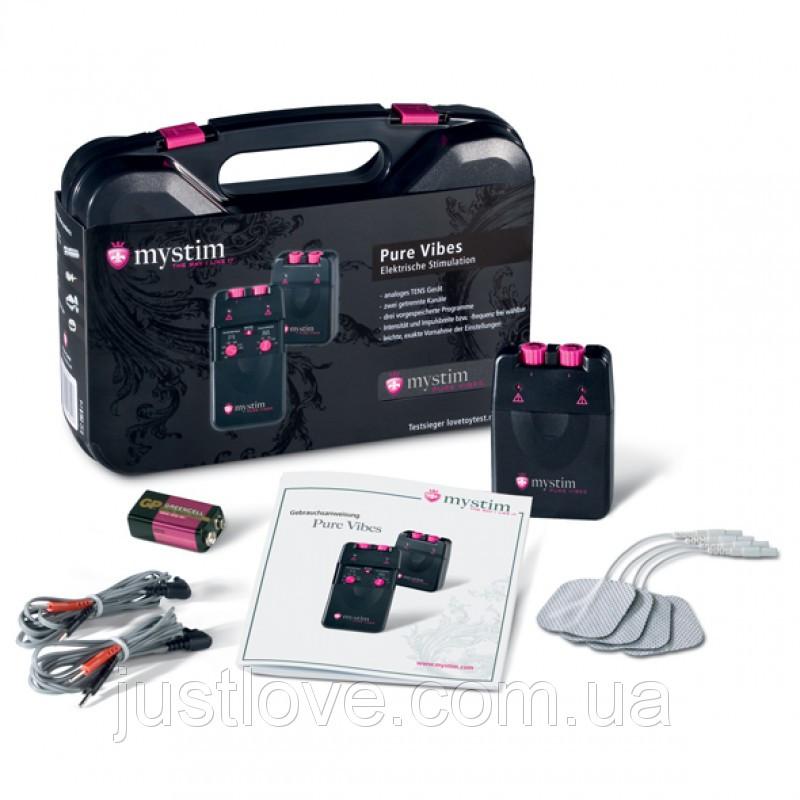 Электростимулятор Mystim (Мистим) Pure Vibes E-Stim Tens Unit аналоговый