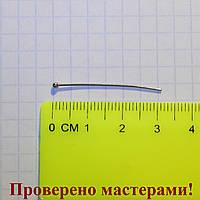 Гвоздик с круглой головкой 3 см, медицинская сталь, 1 шт