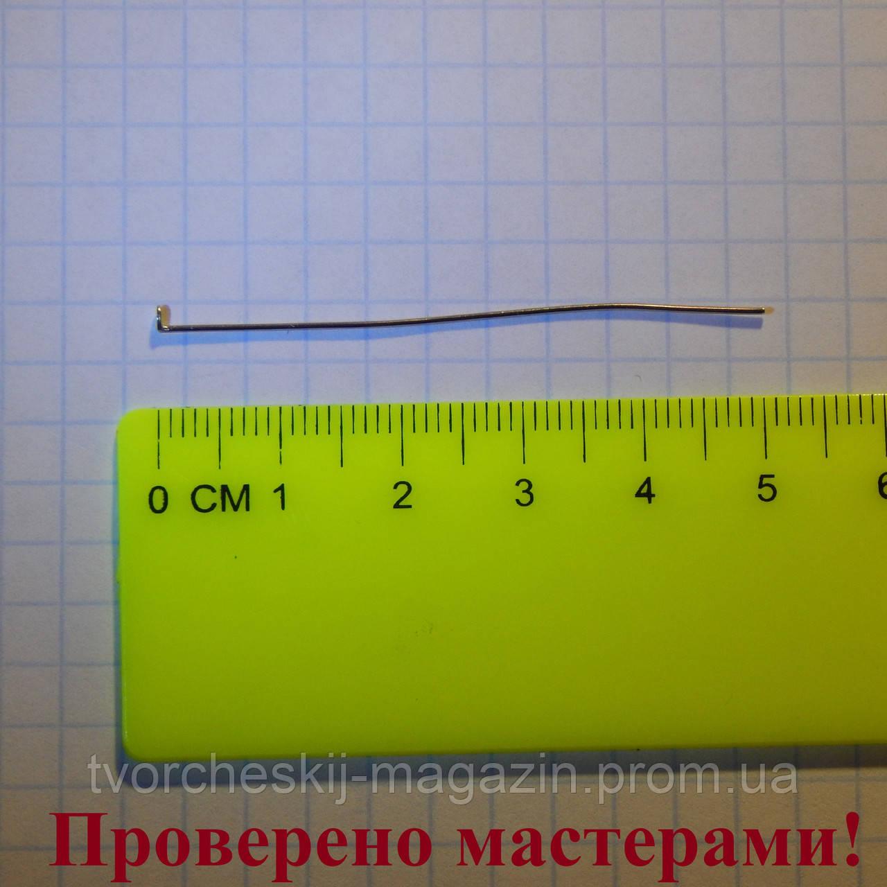 Гвоздик 5 см, медицинская сталь, 1 шт