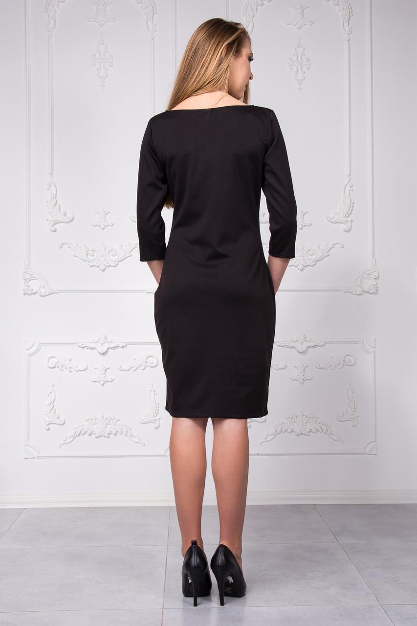 4511de8486c ... Недорогое трикотажное платье электрик размер 44