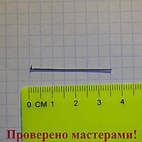 Гвоздик 3,5 см, медицинская сталь, 1 шт