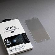 Защитное стекло 3D на Samsung A320 (A3 2017) Прозрачное